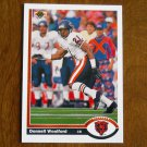 Donnell Woolford Chicago Bears Cornerback Card No 505 - 1991 Upper Deck Football Card