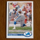 George Jamison Detroit Lions Linebacker Card No. 515 - 1991 Upper Deck Football Card