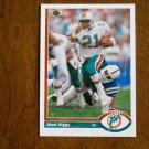 Mark Higgs Miami Dolphins Running Back Card No. 517 - 1991 Upper Deck Football Card