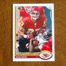 Kevin Porter Kansas City Chiefs Safety Card No. 525 - 1991 Upper Deck Football Card