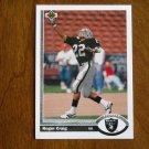 Roger Craig Los Angeles Raiders Running Back Card No. 542 - 1991 Upper Deck Football Card