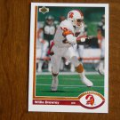 Willie Drewrey Tampa Bay Buccaneers Wide Receiver Card No. 552 - 1991 Upper Deck Football Card