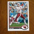Tom Tupa Phoenix Cardinals Quarterback Card No. 554 - 1991 Upper Deck Football Card