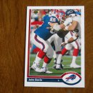 John Davis Buffalo Bills Guard Card No. 570 - 1991 Upper Deck Football Card
