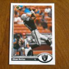 Ethan Horton Los Angeles Raiders Tight End Card No. 582 - 1991 Upper Deck Football Card