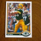 Jeff Query Green Bay Packers Wide Receiver Card No. 584 - 1991 Upper Deck Football Card