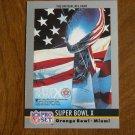 Super Bowl X January 1976 Steelers vs. Cowboys Card No. 10 - 1990 Pro Set Football Card