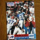 Super Bowl XXV Replay Stephen Baker Scores Giants First TD No. 49 - 1991 Pro Set Football Card