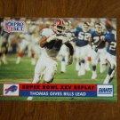 Super Bowl XXV Replay Thurman Thomas Gives Bills Lead No. 52 - 1991 Pro Set Football Card