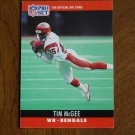 Tim McGee Cincinnati Bengals WR Card No. 64 - 1990 NFL Pro Set Football Card