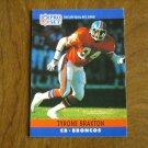 Tyrone Braxton Denver Broncos CB Card No. 87 - 1990 NFL Pro Set Football Card