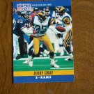 Jerry Gray Los Angeles Rams S Card No. 166 - 1990 NFL Pro Set Football Card