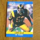 Larry Kelm Los Angeles Rams LB Card No. 169 - 1990 NFL Pro Set Football Card