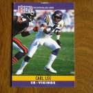 Carl Lee Minnesota Vikings CB Card No. 190 - 1990 NFL Pro Set Football Card