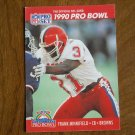 Frank Minnifield Cleveland Browns CB Card No. 357 - 1990 NFL Pro Set Football Card