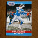 Haywood Jeffires Houston Oilers WR Card No. 511 - 1990 NFL Pro Set Football Card