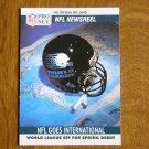 NFL Goes International Newsreel WLAF Card No. 788 - 1990 NFL Pro Set Football Card