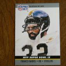 Franco Harris Pittsburgh Steelers RB Card No. 9 - 1990 NFL Pro Set Football Card
