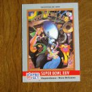 Super Bowl XXIV Superdome New Orleans 49ers vs Broncos No. 24 - 1990 NFL Pro Set Card