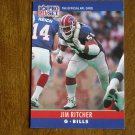 Jim Ritcher Buffalo Bills G Card No. 45 - 1990 NFL Pro Set Football Card