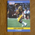 Vince Newsome Los Angeles Rams S Card No. 171 - 1990 NFL Pro Set Football Card