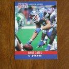 Bart Oates New York Giants C Card No. 229 - 1990 NFL Pro Set Football Card