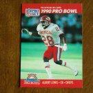 Albert Lewis Kansas City Chiefs CB Card No. 350 - 1990 NFL Pro Set Football Card