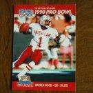 Warren Moon Houston Oilers QB Card No. 359 - 1990 NFL Pro Set Football Card