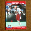 Webster Slaughter Cleveland Browns WR Card No. 370 - 1990 NFL Pro Set Football Card