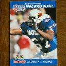 Luis Sharpe Arizona Cardinals T Card No. 414 - 1990 NFL Pro Set Football Card