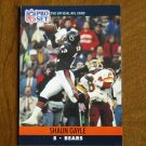 Shaun Gayle Chicago Bears S Card No. 450 - 1990 NFL Pro Set Football Card