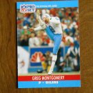 Greg Montgomery Houston Oilers P Card No. 516 - 1990 NFL Pro Set Football Card