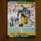 Tony Bennett Green Bay Packers LB Card No. 686 - 1990 NFL Pro Set Football Card
