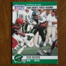 Rob Moore New York Jets WR Card No. 694 - 1990 NFL Pro Set Football Card