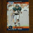 Johnny Bailey Chicago Bears RB Card No. 743 - 1990 NFL Pro Set Football Card