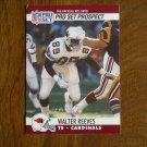 Walter Reeves Arizona Cardinals TE Card No. 747 - 1990 NFL Pro Set Football Card