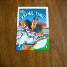 Deion Sanders Atlanta Braves Outfield Card No. 34 - Prime Time 1993 Upper Deck Baseball Card