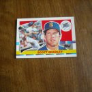 Scott Bradley Seattle Mariners C - DH Card No. 181 - 1990 Topps Baseball Card