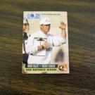 Mike Riley San Antonio Riders Head Coach WLAF Card No. 30 - 1991 World League Football Card