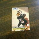 Greg Gilbert San Antonio Riders Linebacker WLAF Card No. 32 - 1991 World League Football Card