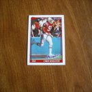 Chris Singleton New England Patriots OLB Card No. 613 - 1991 Topps Football Card