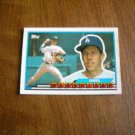 Orel Hershieser Los Angeles Dodgers Pitcher Card No. 1 - 1989 Topps Baseball Card