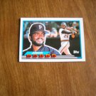 Junior Ortiz Pittsburgh Pirates Catcher Card No. 66 - 1989 Topps Baseball Card