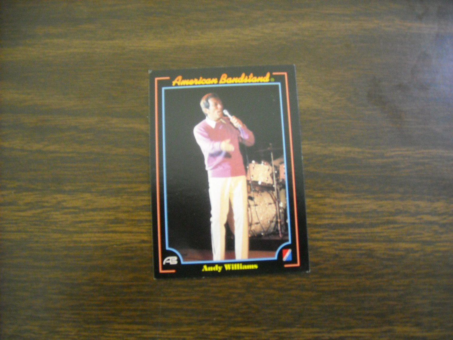 Andy Williams American Bandstand Card No. 17 - 1993 Collect A Card