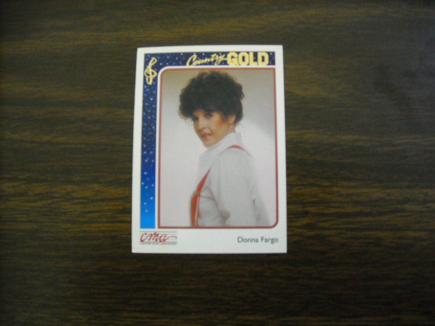 Donna Fargo Country Gold Card No. 59 - CMA Country Music Association 1992 Sterling Cards