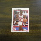 Joe Dumars Detroit Pistons Guard Card No. 11 - 1991 NBA Basketball Card
