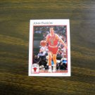 John Paxson Chicago Bulls Guard Card No. 6 - 1991 NBA Basketball Card