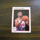Charles Barkley Philadelphia 76ers Forward Card No. 30 - 1991 NBA Properties Basketball Card