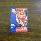 Johnny Dawkins Philadelphia 76ers Guard Card No. S-25 - 1991 Fleer Basketball Card