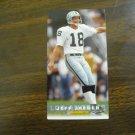 Jeff Jaeger Los Angeles Raiders Card No. 204 - Game Day '94 Fleer Football Card